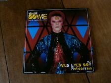 David BOWIE  The wild eyed boy rehearsals.