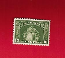 1934  #  209 * VFH  TIMBRE  CANADA STAMP  LOYALISTS STATUE  l-3