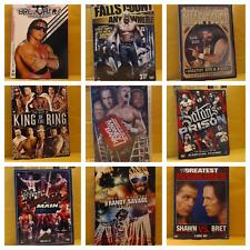 WWF / WWE / WCW DVD & Blu Ray (Compilation Sets & Special Releases)