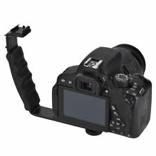 L-Shaped Camera Flash Bracket Holder Hot Shoe Mount For Speedlite Camera DSLR LJ