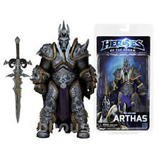 "HEROES OF THE STORM- FIGURA ARTHAS 18 CM / FIGURE WARCRAFT THE LICH KING 7"" NECA"