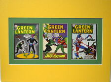 GREEN LANTERN COMICS 1 18 40 COVER PRINTS PROFESSIONALLY MATTED 3 Windows