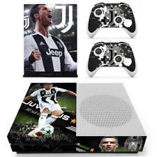 Xbox one S Slim Console Skin Cristiano Ronaldo Juventus FC Vinyl Stickers Decal