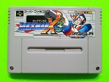 ROCKMAN X3 (Mega Man X3) Super Famicom