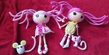 Lalaloopsy Crumbs Sugar Cookie Princess Jewel Sparkles Silly Hair Dolls w Pets