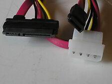 """20"""" SATA 7P+15P to SATA/4-pin Power Cable 17630"""