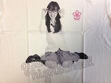 RINA AKIYAMA Quolomo High School T-shirt L japanese sexy idol 秋山 莉奈 JAPAN akb48