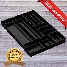 Craftsman Divider Storage Organizer Drawer Tool Parts System Box Bin Home Black