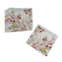 20X flowers paper napkin festive & party tissue napkins decoupage decor J_AU