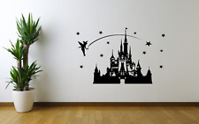 Walt Disney Castle Transfer Wall Art Decal Sticker CH25