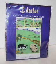Anchor Kit ACE2000 5x15 Ann Lancaster Design SHEP Made in UK Crewel Cross Stitch