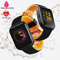 Smart Bracelet Watch Heart Rate Blood Pressure Monitor Activity Fitness Tracker