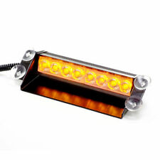 8W LED Frontblitzer Straßenräumer - orange