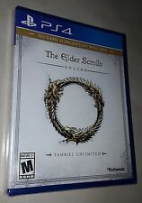 Elder Scrolls Online: Tamriel Unlimited (PlayStation 4) - Brand New & Sealed !!