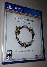 Elder Scrolls Online: Tamriel Unlimited (PlayStation 4) - Brand New & Sealed !!