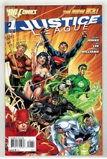 JUSTICE LEAGUE #1 - JIM LEE ART & COVER - THE NEW 52 - DC COMICS/2011