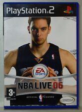 NBA LIVE 06 - PLAYSTATION 2 - PAL ESPAÑA - COMPLETO