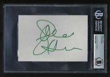 Goldie Hawn signed 4x6 card BAS Authenticated Beautiful Actress