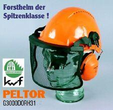 Forst Sicherheitshelm Forsthelm Peltor G3000 uvicat. Gehörschutz H31 Visier V4CK