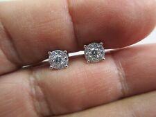 14K Gold Diamond Earrings Diamond=1.00 Carat D-VS2   Value=$6,500