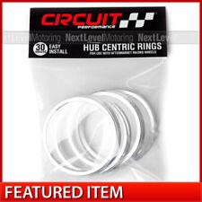 Circuit Performance 72.6 72.56 / 65.1 Aluminum Hub Centric Rings (Set of 4)