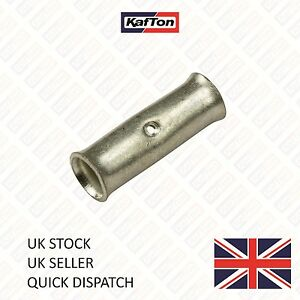 Copper Tube Butt Connector Terminals Battery Starter Cable Joiner Wire