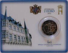 2 Euro commémorative de Luxembourg 2012 Brillant Universel (BU) - Guillaume IV