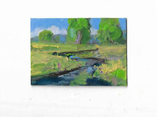 miniature painting, aceo, card,  small art ,artist trading card