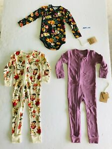 18M NEW Earthy Organic Cotton Baby Girls Clothes Manufacturer 2nds LOT AK