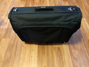"""Delsey Deluxe Garment Bag / Cover (23""""×19"""" Folded) Luggage & Strap 46 × 43 Open"""
