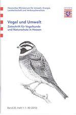 Vogel und Umwelt Bd. 20 Heft 1 von 2013