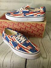 Vans Authentic (Free Flag) Americana Red/white/blue Men's 8