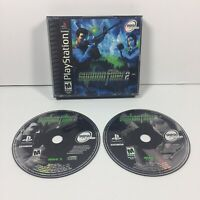 Syphon Filter 2 (Sony PlayStation 1, 2000) PS1 TESTED Black Label