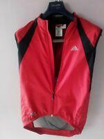 Adidas  Schone leichte  Weste für Sport, Fitness Rote Jacke ClimaProof  Gr.S