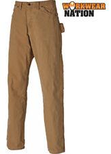 Pantalones de hombre en color principal marrón 100% algodón