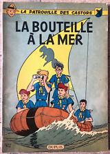 """E.O. 1959 PATROUILLE DES CASTORS MITACQ """" BOUTEILLE A LA MER """" BE+/TBE DUPUIS"""