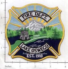 Oregon - Lake Oswego OR Fire Dept Patch