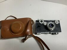 "Argus C3 ""Brick"" Rangefinder Vintage 35mm Film Camera w/50mm 1:3.5 Lens & Case"