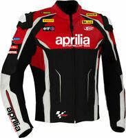 Aprilia racing Motorcycle Leather Jacket Sports Motorbike Leather Jackets