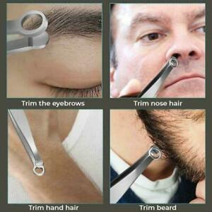 Universal Nose Hair Trimming Tweezers 2021 E7E3