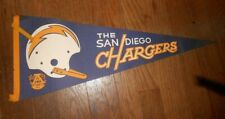 Vintage San Diego Chargers Pennant Afl