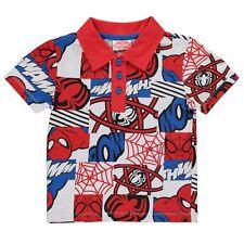 Polo Bambino con stampa Spiderman Taglia 7-8 anni