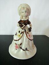 Vintage Brinns Woman Porcelain Bell Pgh Pa Taiwan