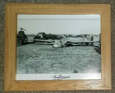 More details for eric winkle brown signed photo, framed, genuine-not a reprint