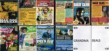 Lot of 5 New DVD From Troma Mad Dog Morgan Dennis Woodruff Col Shark Ragin Cajun
