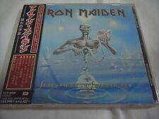 IRON MAIDEN-Seventh Son Of A Seventh Son JAPAN Press w/OBI CD Extra Bonus Track