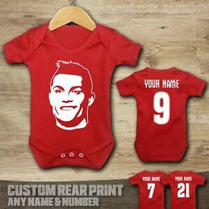 Man Utd - Cristiano Ronaldo 7 - Baby Vest Suit Grow