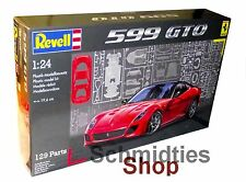Revell 07091 - Ferrari 599 GTO Maßstab: 1:24 - NEU/OVP