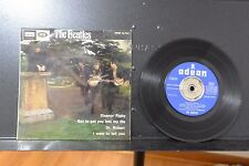 """Beatles Rare Spanish 7"""" EP/Picture Sleeve  Odeon/EMI '66 Eleanor Rigby Solid VG+"""