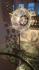 Sputnik Lampe space age Design ufo Faden Lampe Tischlampe zu colani panton vitra